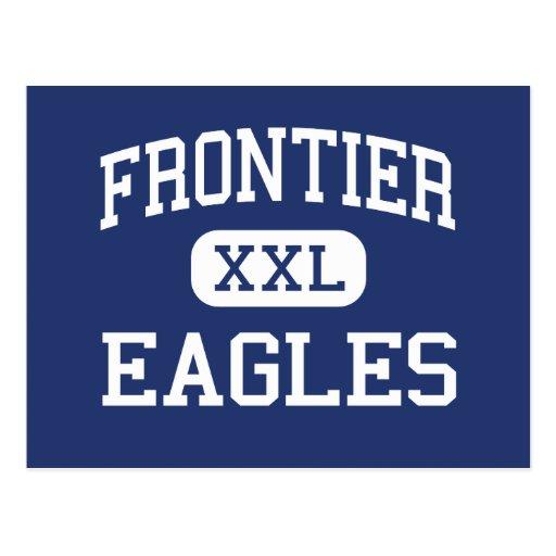 Frontier - Eagles - High - Fort Collins Colorado Postcards
