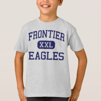 Frontier - Eagles - High - Fort Collins Colorado T-Shirt