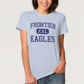 Frontier - Eagles - High - Fort Collins Colorado Tee Shirt