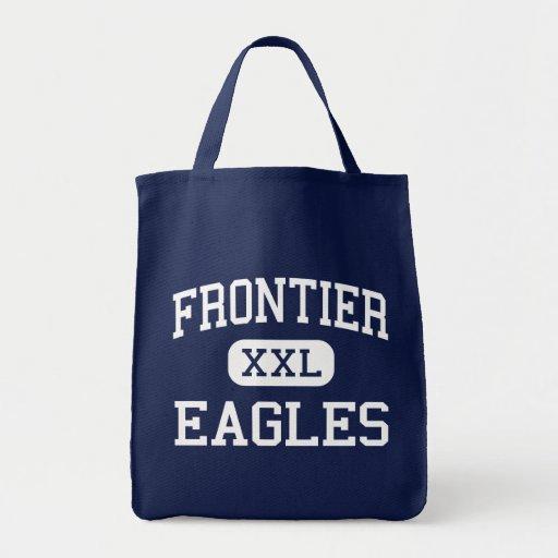 Frontier - Eagles - High School - Fairbanks Alaska Tote Bags