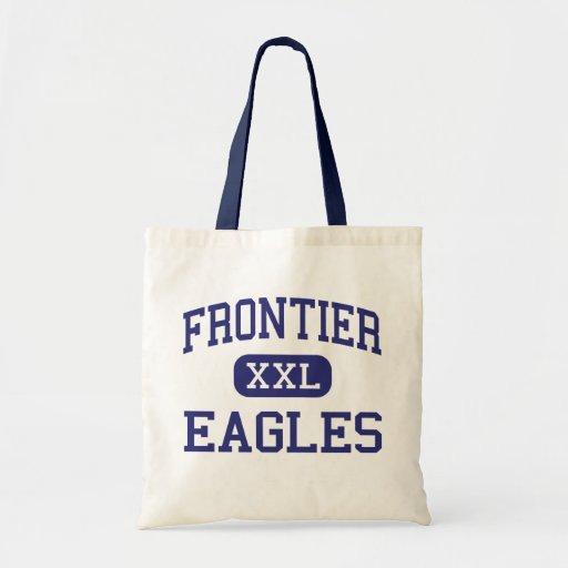Frontier - Eagles - High School - Fairbanks Alaska Canvas Bags