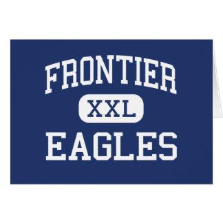 Frontier - Eagles - High School - Fairbanks Alaska Greeting Cards