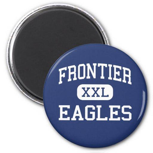 Frontier - Eagles - High School - Fairbanks Alaska Magnets
