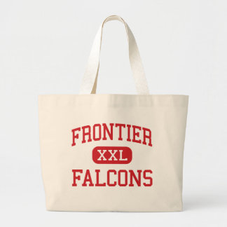 Frontier - Falcons - High - Chalmers Indiana Tote Bags