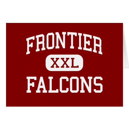 Frontier - Falcons - High - Chalmers Indiana Greeting Cards