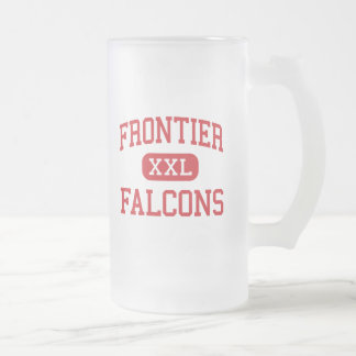 Frontier - Falcons - High - Chalmers Indiana Frosted Glass Mug