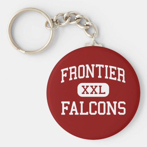Frontier - Falcons - High - Chalmers Indiana Keychains