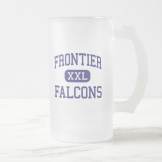 Frontier - Falcons - High - Hamburg New York Frosted Glass Mug