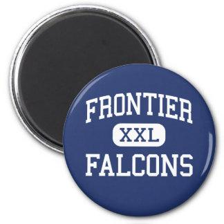 Frontier - Falcons - High - Hamburg New York 2 Inch Round Magnet