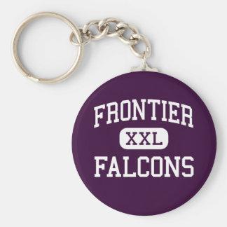 Frontier - Falcons - Junior - Graham Washington Basic Round Button Keychain