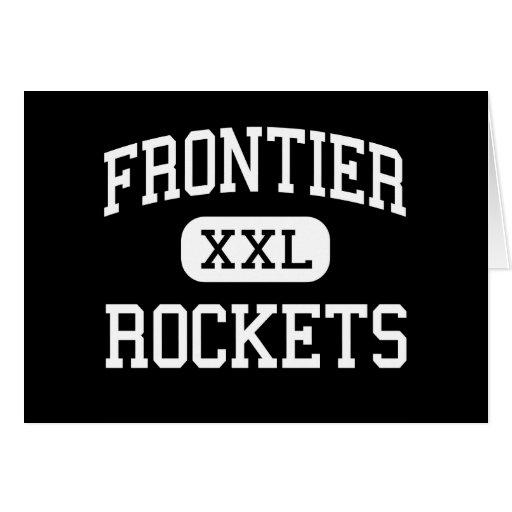 Frontier - Rockets - Continuation - Camarillo Greeting Card