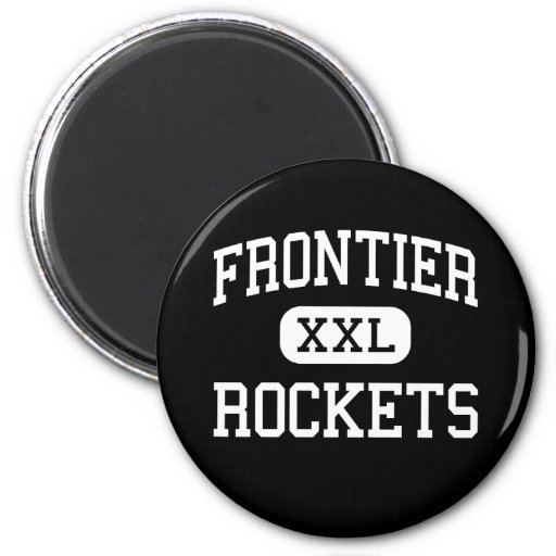 Frontier - Rockets - Continuation - Camarillo Refrigerator Magnets