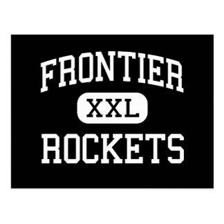 Frontier - Rockets - Continuation - Camarillo Postcard