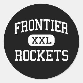 Frontier - Rockets - Continuation - Camarillo Sticker