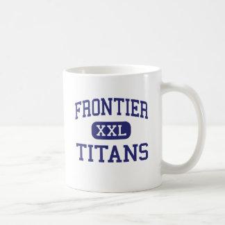 Frontier - Titans - High - Bakersfield California Basic White Mug