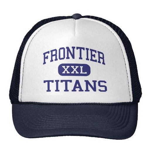 Frontier - Titans - High - Bakersfield California Hat