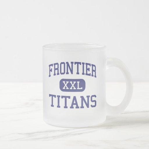 Frontier - Titans - High - Bakersfield California Mugs