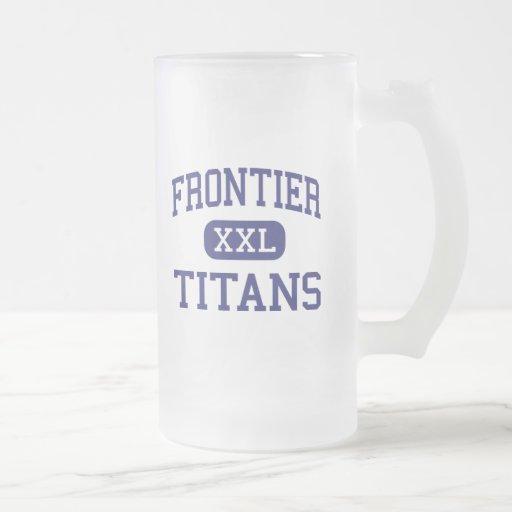 Frontier - Titans - High - Bakersfield California Coffee Mugs