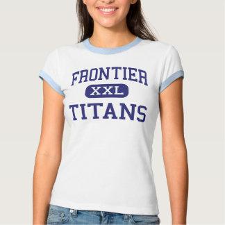 Frontier - Titans - High - Bakersfield California Tshirt