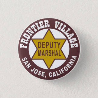 frontier_village_button_new 1 inch round button