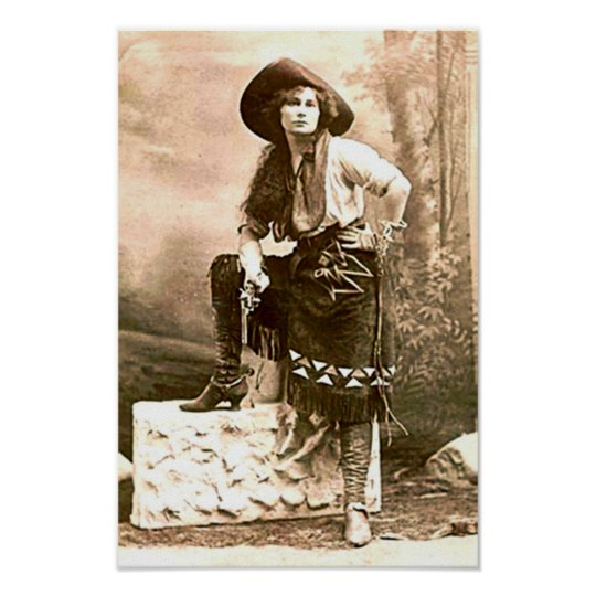 Frontier Woman of the American West Print