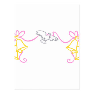 Frontière de mariage cartes postales