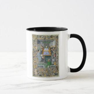 Frontispiece of Antonio de Nebrija's  'Gramatica' Mug
