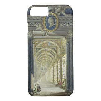 Frontispiece with a medallion portrait of Raphael iPhone 7 Case