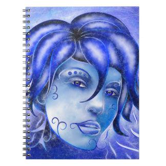 Frosinissia V1 - frozen face Notebook