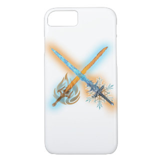 Frost and Fire Sword iPhone case