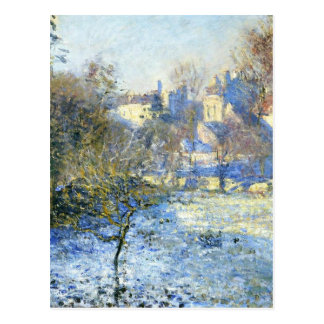 Frost by Claude Monet Postcard