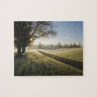 Frost-Covered Golf Course Puzzles