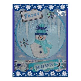 Frost Moon Postcard