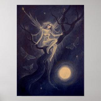 Frost Moon Spirit Poster