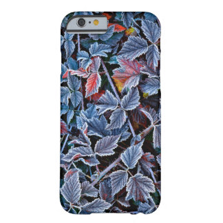 Frost on autumn leaves, Oregon Barely There iPhone 6 Case
