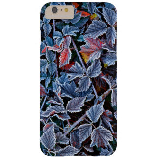 Frost on autumn leaves, Oregon Barely There iPhone 6 Plus Case