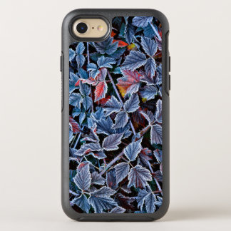 Frost on autumn leaves, Oregon OtterBox Symmetry iPhone 7 Case
