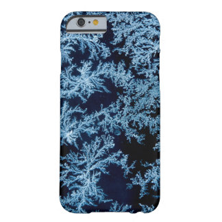 Frost patterns close-up, California Barely There iPhone 6 Case