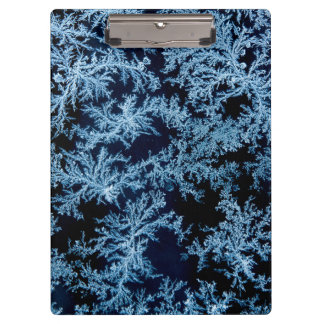 Frost patterns close-up, California Clipboards