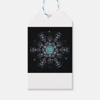 Frost Rose Pack Of Gift Tags
