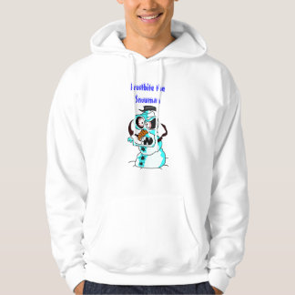 Frostbite the Snowman Hoodie
