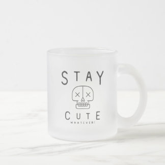 Frosted 10 oz Frosted Glass Mug