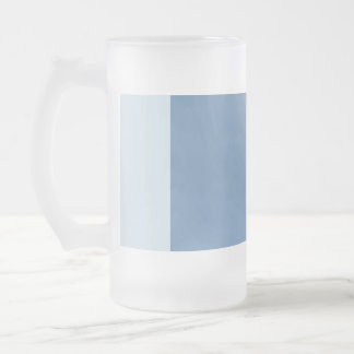 Frosted 16 ounce Frosted Glass Mug Custom