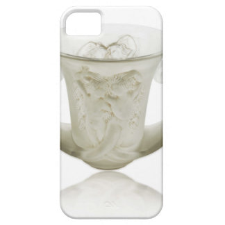 Frosted Art Deco vase with two cherubs. iPhone 5 Cover