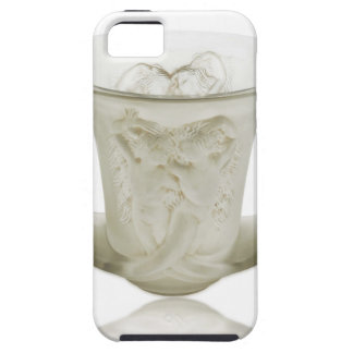 Frosted Art Deco vase with two cherubs. iPhone 5 Covers