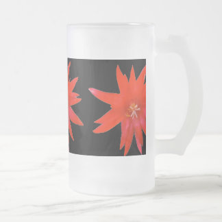 Frosted Beer Mug - Easter Cactus