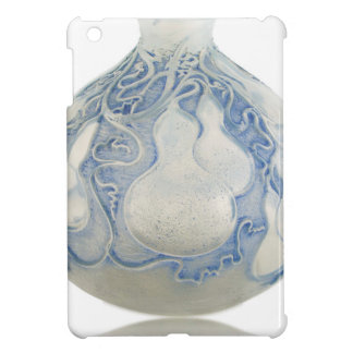 Frosted blue Art Deco vase with fruit. Case For The iPad Mini