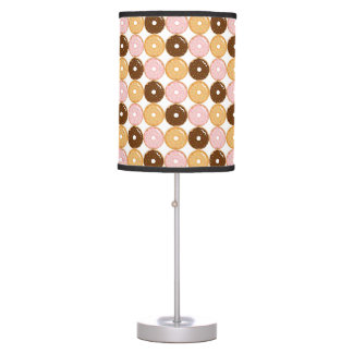 Frosted Donut Pattern Table Lamp