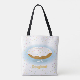 Frosted Donut with Sprinkles | Tote Bag