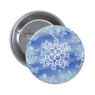 Frosted Edges II 2 Inch Round Button